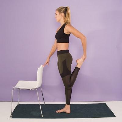 Back Leg Pull Standing