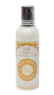 Auravedic Pure Brightening Whitening Radiance Sunblock SPF 30