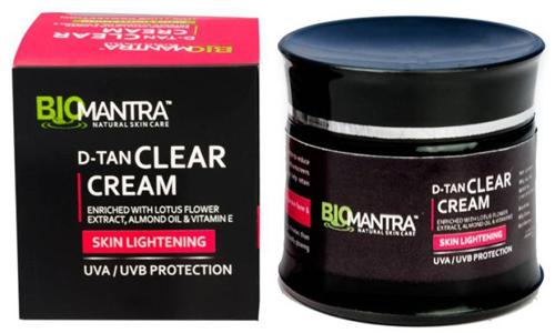 Tan Removal Creams - Bio Mantra D Tan Clear Cream