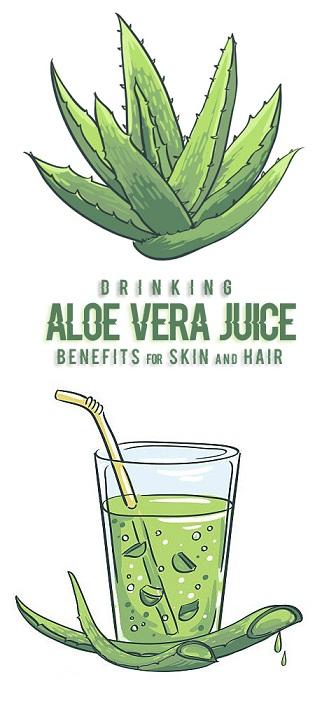 19 Evidence Based Aloe Vera Juice Benefits For Skin, Hair & Health