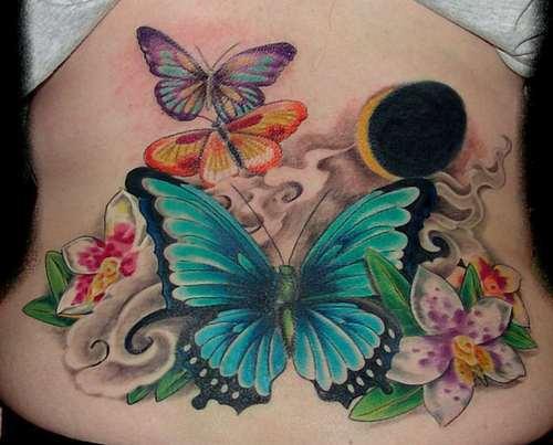 Wild Butterfly Tattoos
