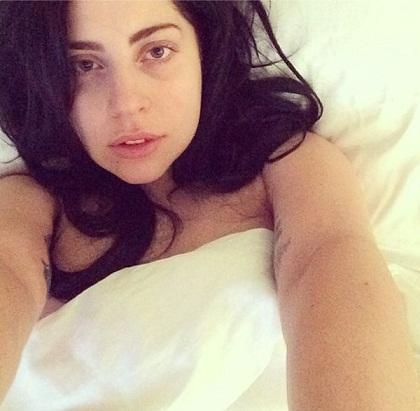 Lady Gaga without makeup7