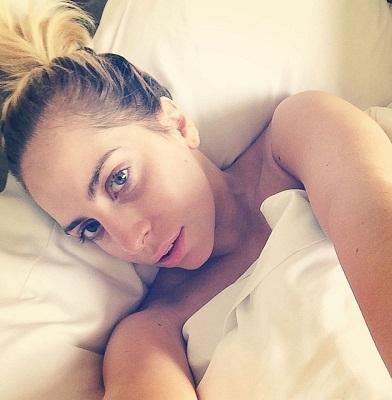 Lady Gaga without makeup3