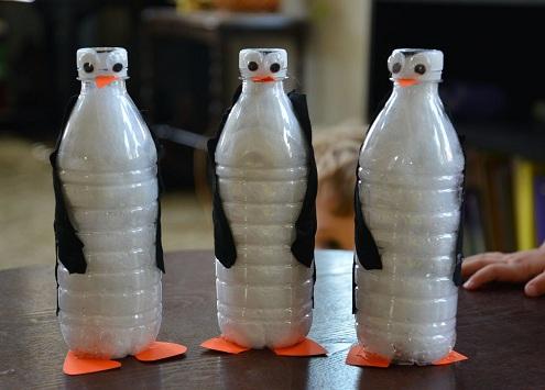 Bottle Penguins
