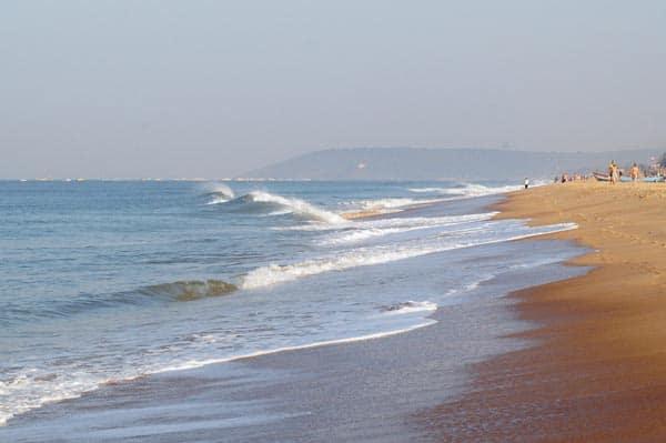 Candolim Beach for Honeymoon Couples