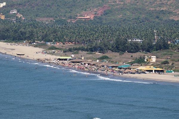 Morjim Beach In Goa For Honeymoon