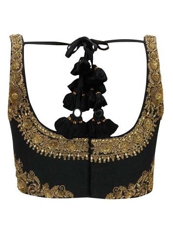Partywear Black Blouse