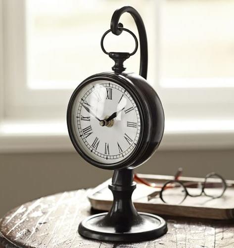 Pendant Type Vintage Desk Clocks
