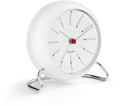 Sleek Designed White Desk Clocks