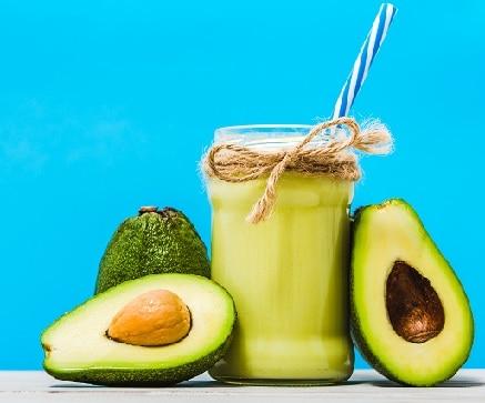 Avocado Fruit Juice for Healthy Hair