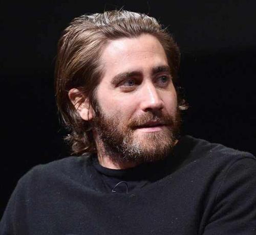 Medium to Long Hair Look with Beard