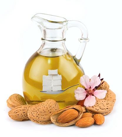 Almond oil sugar