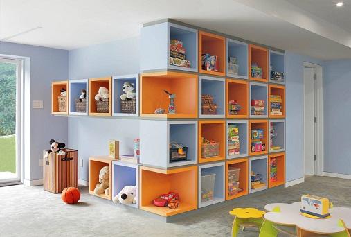 Kid's toy box organizer