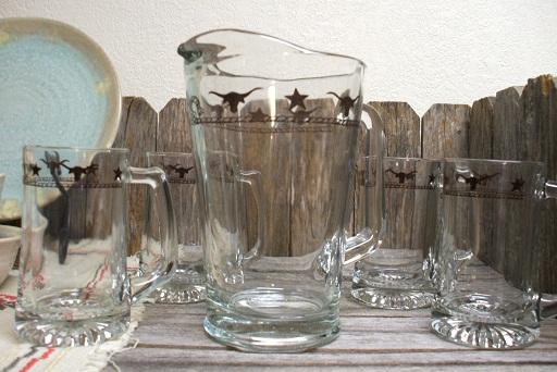 Western glassware kitchen accessories