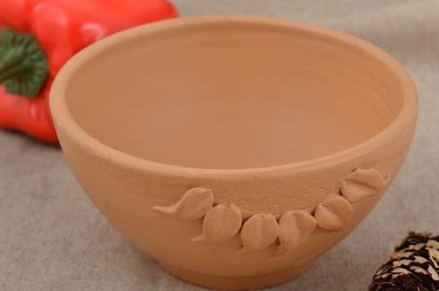 Clay kitchen accessories