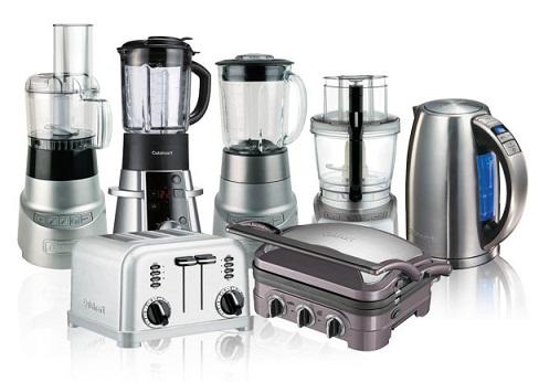 Fiber and glass kitchen appliances
