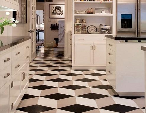 3D Technology Kitchen Tiles Designs