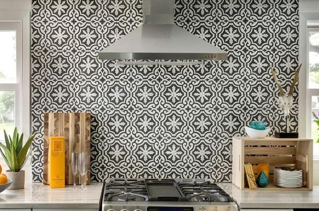 Patterned Kitchen Tiles