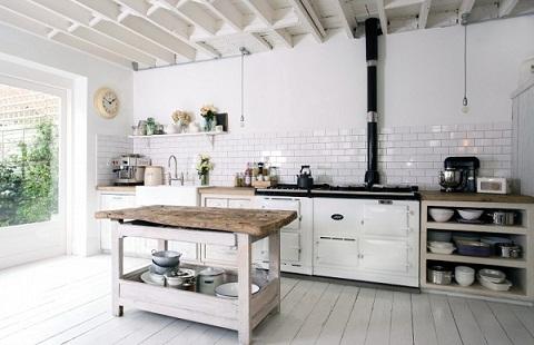 Pearl White Tiles For Kitchen