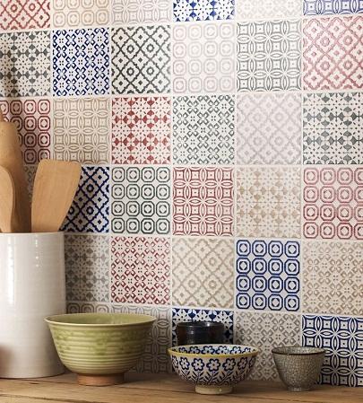 Patchwork Kitchen Tiles Designs