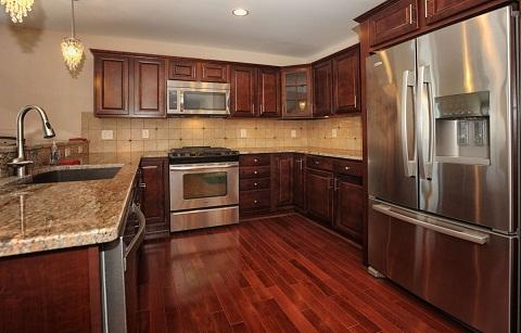 Wooden Flooring Kitchen Tiles