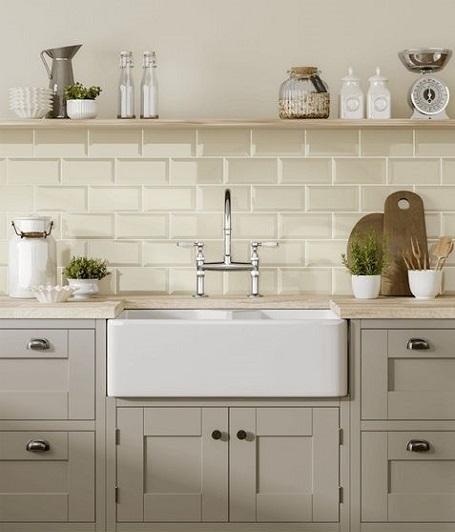 Ivory Kitchen Tiles