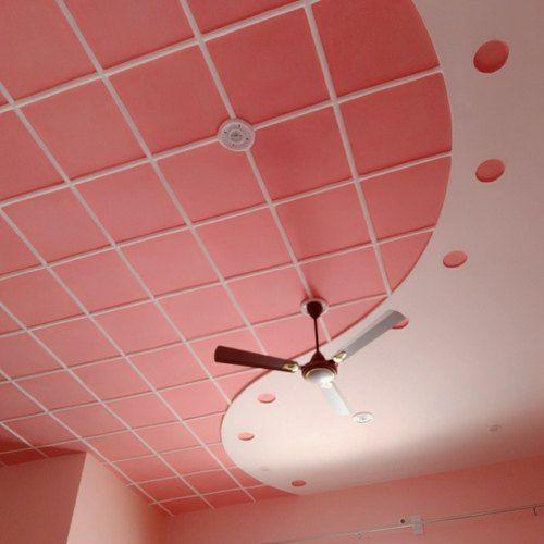 Plus Minus Pop Ceiling Design For Hall