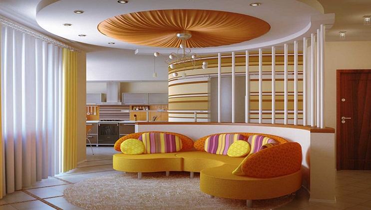 Decorative Ceiling Pop Design Small Hall