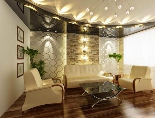 Pop Design For Hall Roof