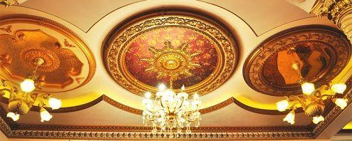Artistic Pop Ceiling Design For Hall