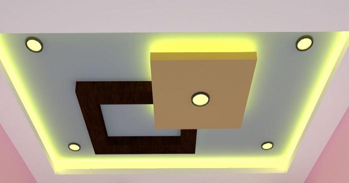 Pop Interior Design For Hall