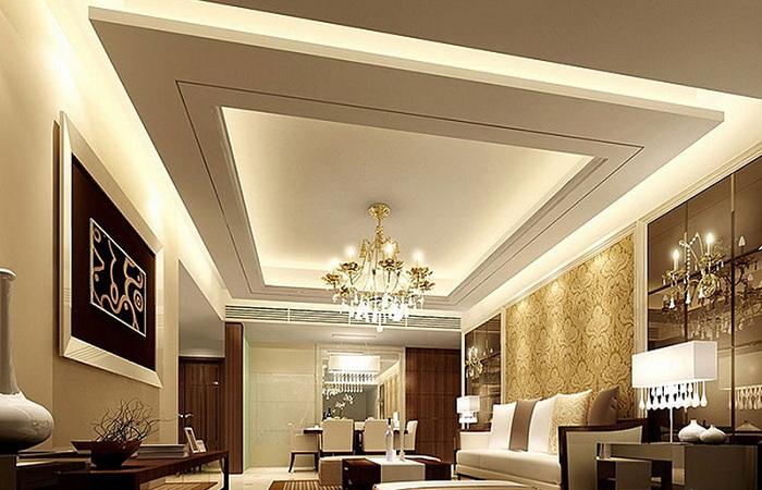 Pop Ceiling Design For Rectangular Hall