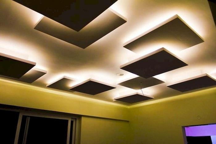 Modern Gypsum Hall Pop Design