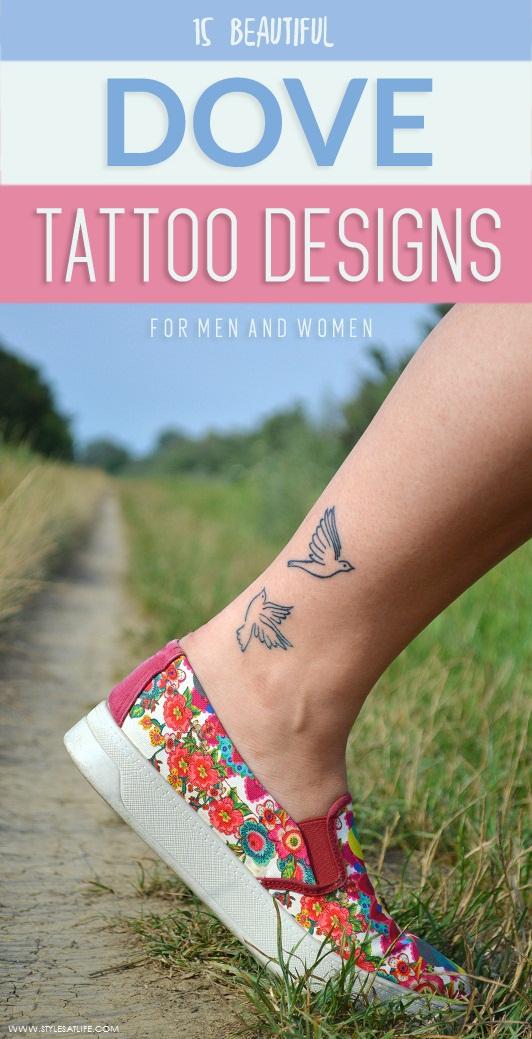 best dove tattoo designs
