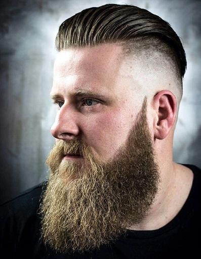 Slick Back with Beard