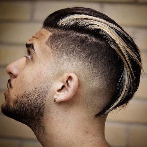 Long Slicked Back Hair