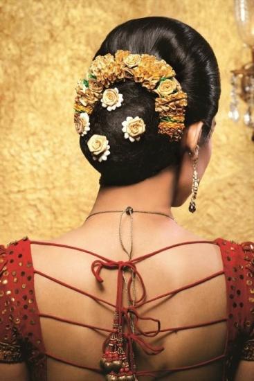 Rosy Bun In Juda Hairstyles