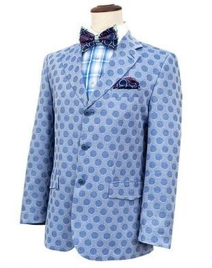 Designer Blazer In Light Blue Color
