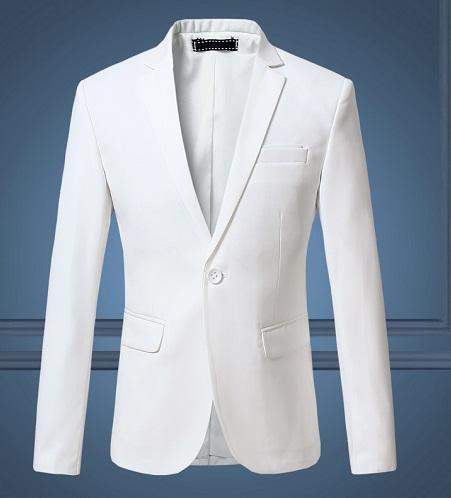 Boy's Special Party Wear White Blazer