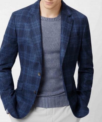 Woolen Type Party Wear Blazer