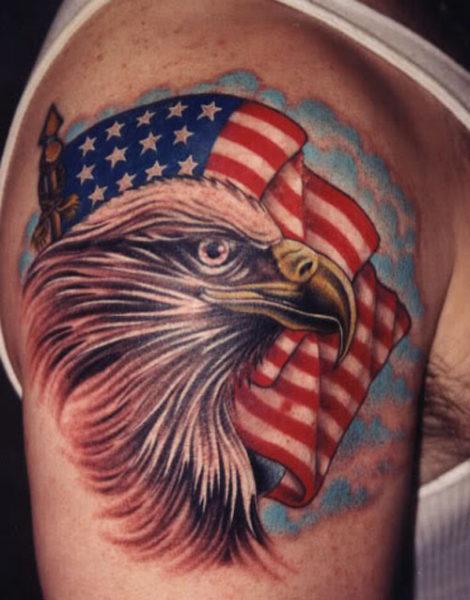 Eagle as America