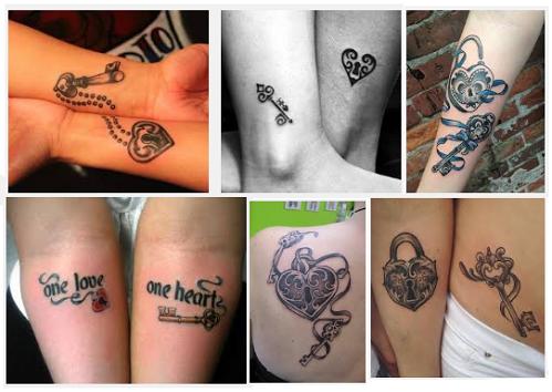 best-lock-and-key-tattoo-designs