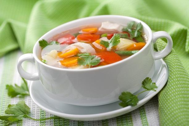 Chicken soup1