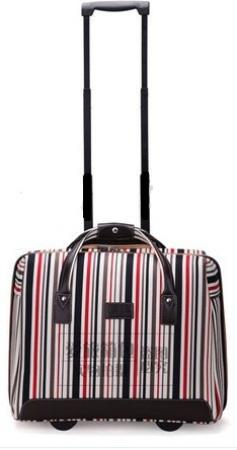 Weekend Strips Luggage Bag -15