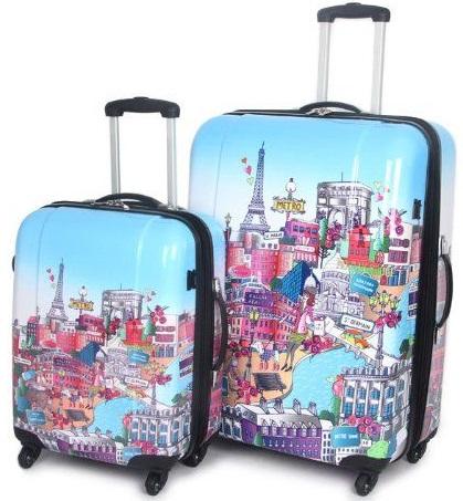 Paris City Luggage Bag -8