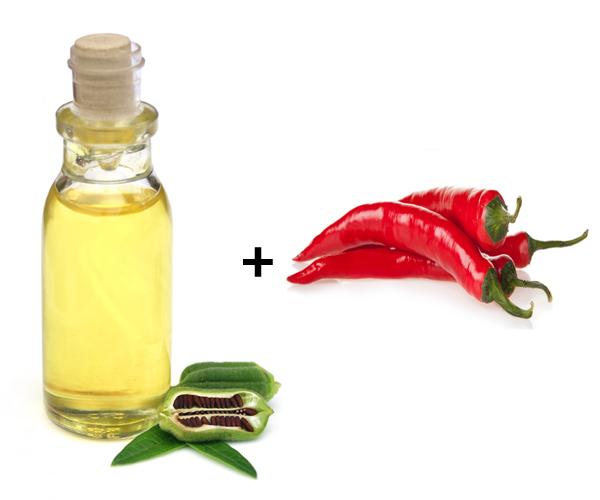 Sesame Oil and Pepper