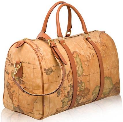 World Map Designer Travel Bag -25