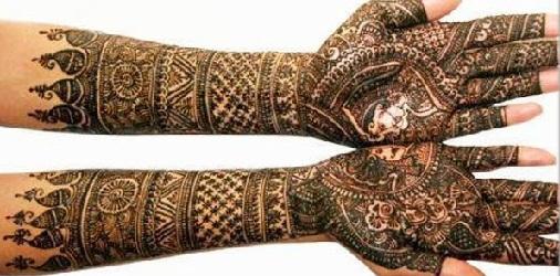 dulha-dulhan-rajasthani-mehndi-design17