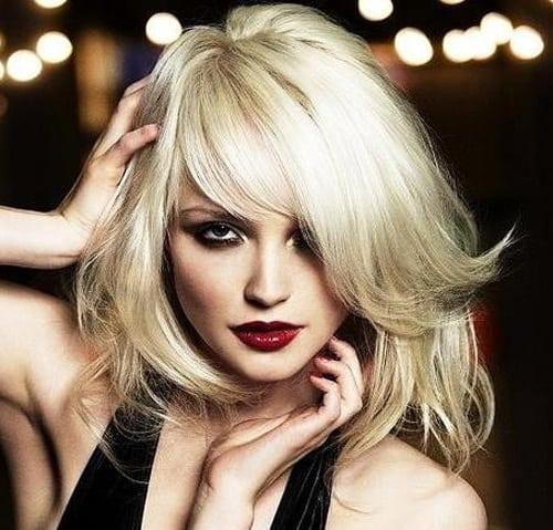 Teased Blonde Hairstyles
