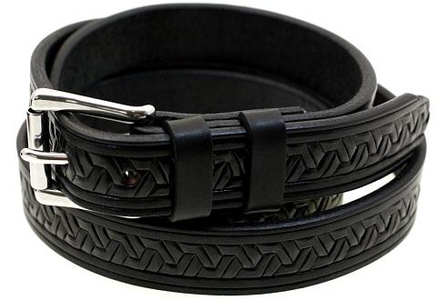 embossed-black-leather-belt-1